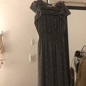 Gap Smock Midi Dress